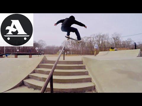 Donny Barley & Brandon Westgate skate Tiverton Rhode Island skatepark