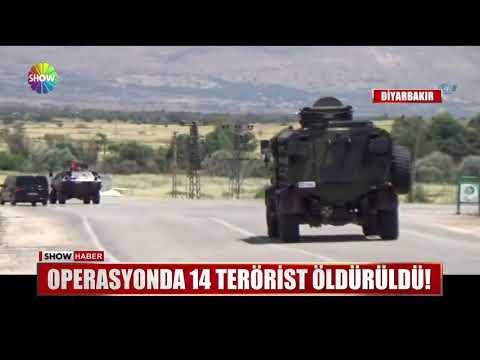 Operasyonda 14 terörist öldürüldü!