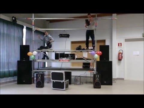 dj setup - synq, jb systems en briteq