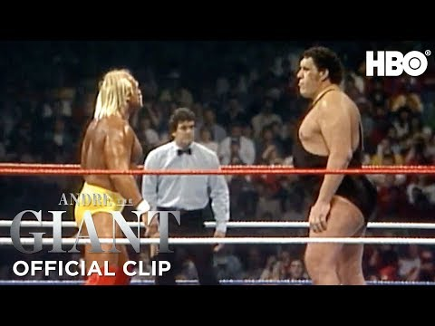 Hulk Hogan vs. Andre The Giant WrestleMania III WWE' Official Clip | Andre The Giant | HBO
