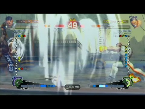 Doritos (Dudley) VS Metal God (Dee Jay) - SSFIV AE2012 - Casual Endless