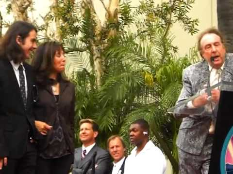 Eric Idle Speech at George Harrison Hollywood Walk Of Fame Ceremony Video