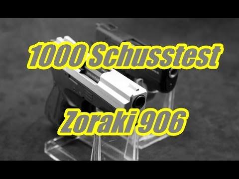 1000 Schusstest mit der Zoraki 906 / 2906