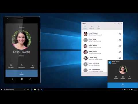 Microsoft teases hand-off for phone calls in windows 10