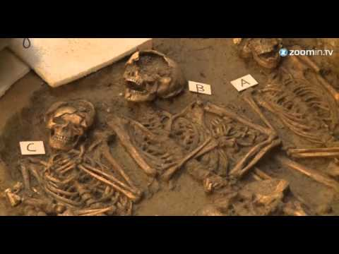 Scores of skeletal remains unearthed in Florence