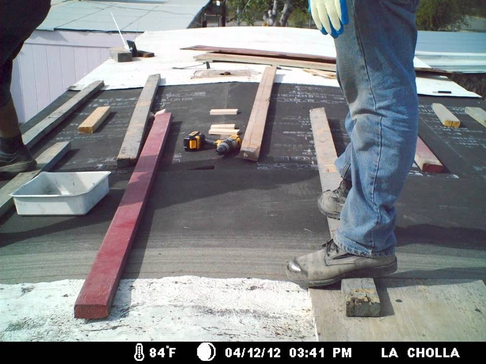 Mobile Home Metal Roof Installation Time Lapse Youtube