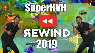 Mobile Legends Best Funny WTF Moments On My Channel In 2019 | SuperHVH Rewind 2019