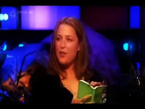 So Graham Norton - Gillian Anderson having German fun