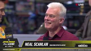 Neal Scanlan Takes The Stage At SWCC 2019 | The Star Wars Show Live!