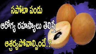 సపోటా పండు ఆరోగ్య రహస్యాలు తెలిస్తే ఆశ్చర్యపోవాల్సిందే..? |  Sapota Fruit Health Benefits
