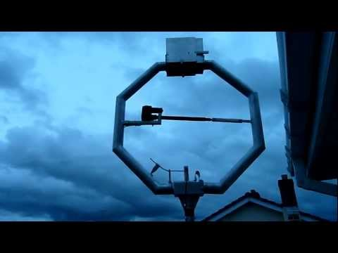 Magnetic loop antenna- EI8GXB.