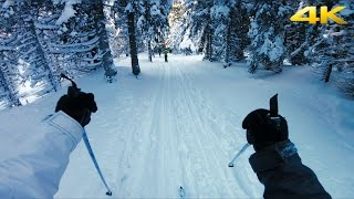 GoPro HERO5 Session: CROSS-COUNTRY SKIING IN 4K (Ultra HD)