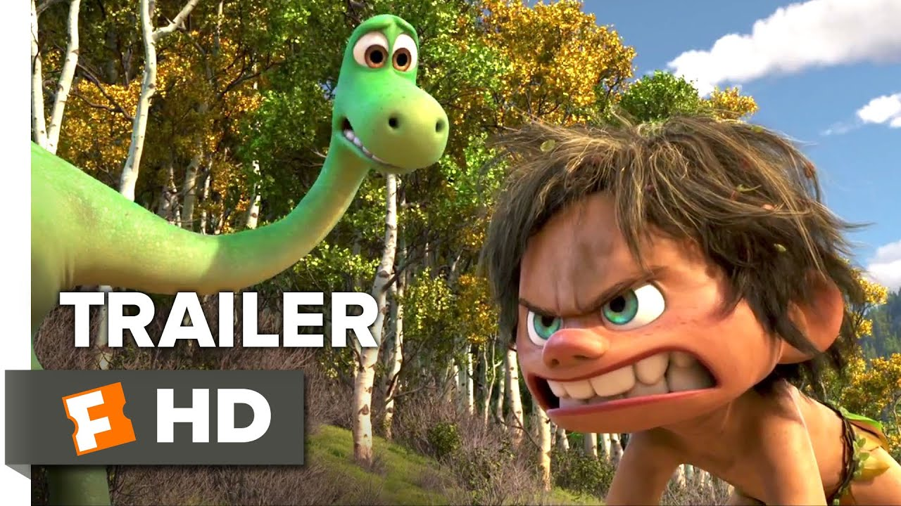 The Good Dinosaur Official Trailer #2 (2015) - Raymond Ochoa, Jeffrey Wright Animation Movie HD