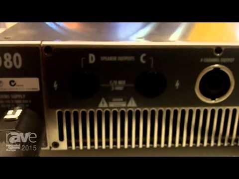 ISE 2015: d&b audiotechnik Breaks Down D80 Amplifier