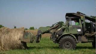 Teen Runs the Family Farm with a Unimog from GovLiquidation.com