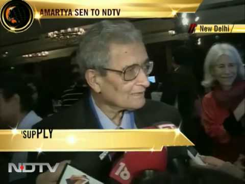 Food inflation serious issue: Amartya Sen