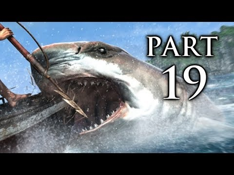 Assassin's Creed 4 Black Flag Gameplay Walkthrough Part 19 - Sharks (AC4)
