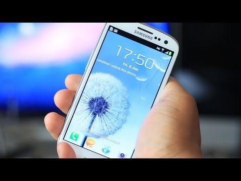 Unboxing: Samsung Galaxy S III
