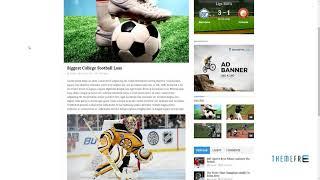 Sportsline - News and Magazine WordPress Theme      Eldon Weldon