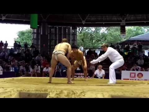 BUL Stiliyan vs JPN Sumo World Championships 2015