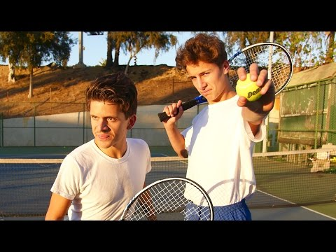 Terrible Tennis Players | Rudy Mancuso & Juanpa Zurita