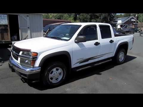 2005 Chevrolet Colorado Crew Cab 4X4 Start Up. Engine. and In Depth Tour
