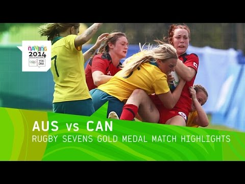 Australia Wins Women's Rugby Sevens Gold - Highlights | Nanjing 2014 Youth Olympic Games