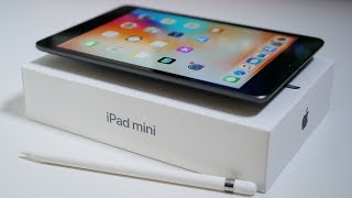 New iPad mini 2019 - Unboxing and Overview