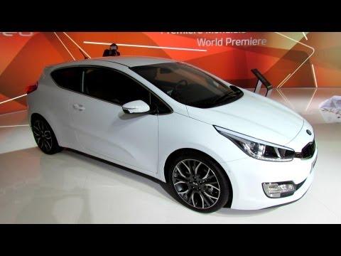 KIA Pro Ceed 2012 - Интерьер и экстерьер - 2012 Paris Auto Show