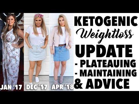 KETO UPDATE - WEIGHTLOSS PLATEAU, MAINTAINING WEIGHT & CHATS