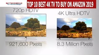 TOP 10 BEST 4K TV TO BUY ON AMAZON TO  WATCH GAME OF THRONES 2019