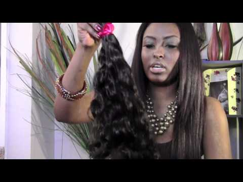 First Look: Doll Hair Galore indian hair Wavy/Curly