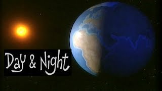Day and Night Explanation,Causes  Science for Kids