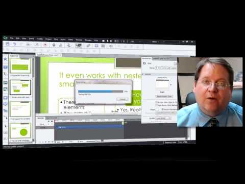 Importing Microsoft PowerPoint into Adobe Captivate 6 Tutorial