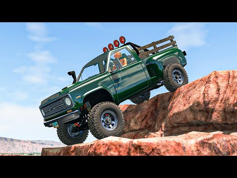 Off Road Crashes and Rally #30 - BeamNG DRIVE | SmashChan
