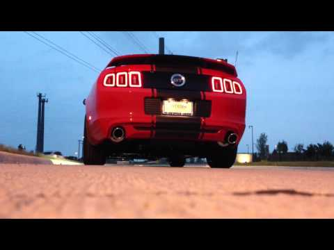 2013 Mustang GT Roush Axle Back Exhaust