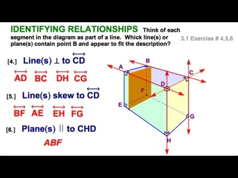 31 Identifying Pairs Of Lines And Angles Parallel