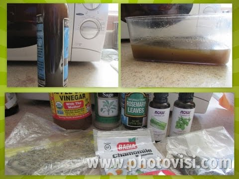 Apple Cider Vinegar Hair Rinse Tonic