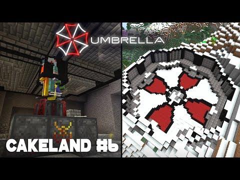 CakeLand #6: Корпорация Амбрелла, Дизайн базы Кровавой Магии | SevTech: Ages