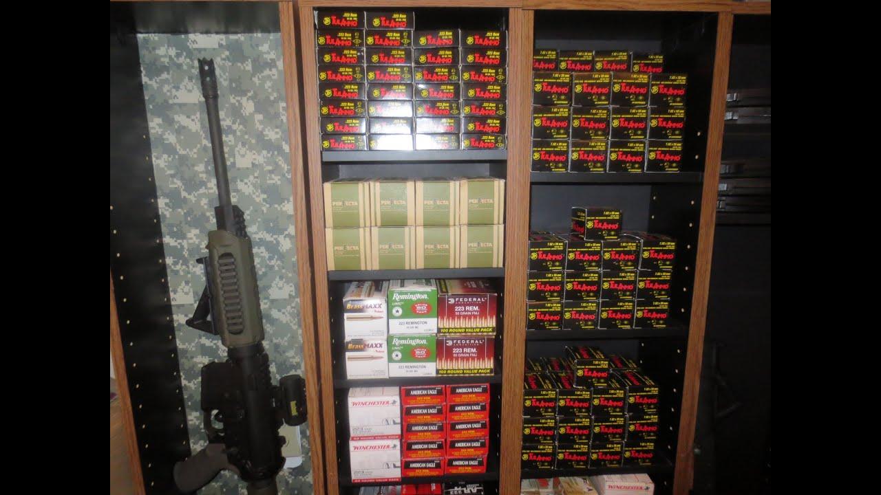 Diy Gun Ammo Display For Under 20 Youtube
