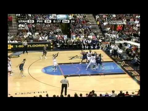 Allen Iverson 51pts FULL Highlights vs Utah Jazz 04/05 NBA *Back-to Back 50pts Game