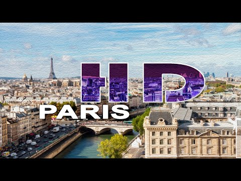 PARIS , FRANCE -  A WALKING TRAVEL TOUR - HD 1080P Music Videos