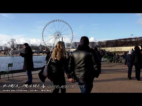 PARIS , FRANCE -  A WALKING TRAVEL TOUR - HD 1080P