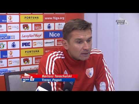 Konferencja po meczu. // Pogoń Siedlce - RKS Raków 0:3 // Raków News TV