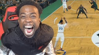 FULL COURT BUZZER BEATER ON KYRIE IRVING! NBA 2K18 MYCAREER