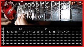 download lagu Creeping Death Guitar Solo Lesson - Metallica  Tabs gratis