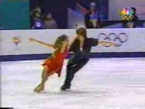 "Naomi Lang and Peter Tchernyshev""s Free Dance in the 2002 Winter Olympics. Music: ""Parisienne Walkways"" by Gary Moore."