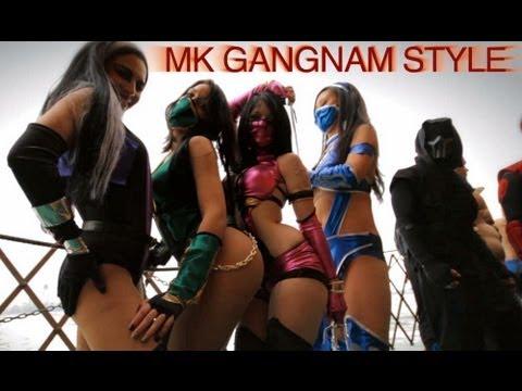 Mortal Kombat VS Gangnam Style ((강남스타일)