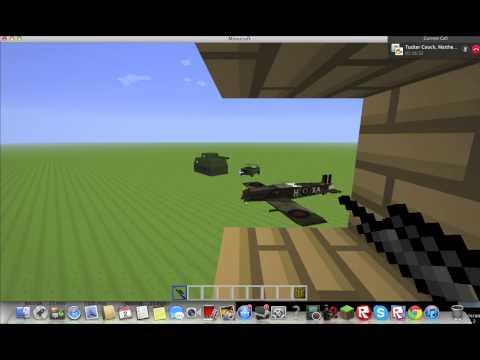 Minecraft World War II Kovacics Mod Pack Review