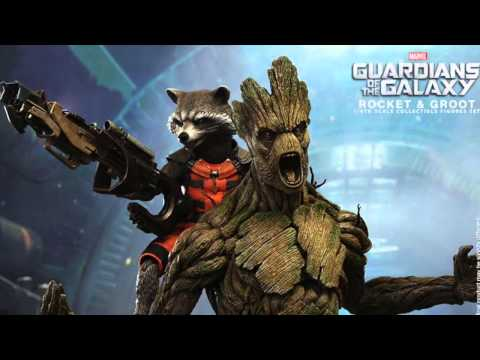 Guardians Of The Galaxy Hot Toys Rocket Raccoon & Groot 1/6 Scale Movie Figures Revealed